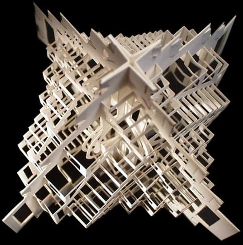 Arquitetura de origami